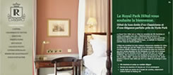 The Royal Park Hotel's official French website