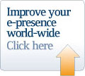improve your e-presence world wide